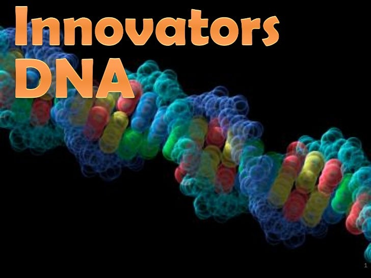 Innovators DNA - CoreNet Global Webinar