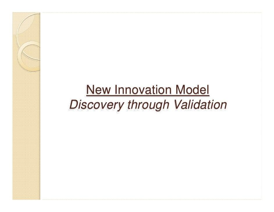 Translational Research - New Innovation Model