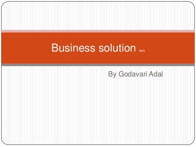 Innovetion(business solution)