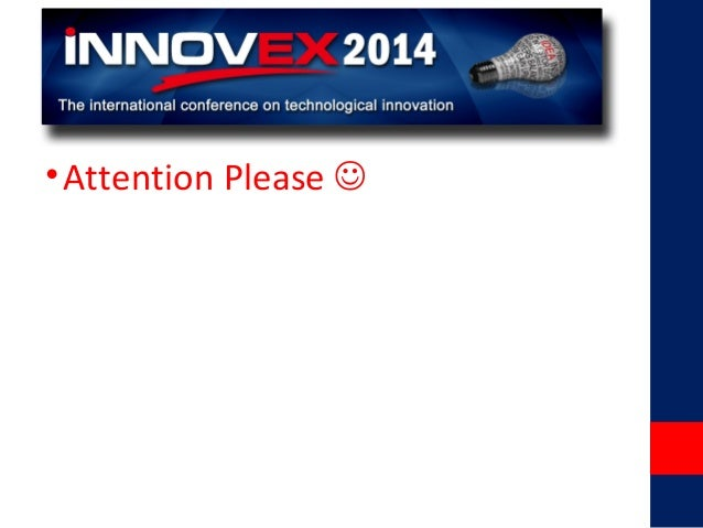 iNNOVEX2014 - Satjiv Chahil