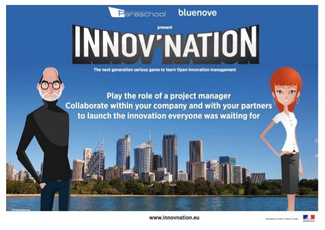 contact@innovnation.eu   © 2012 Paraschool & bluenove. All rights reserved