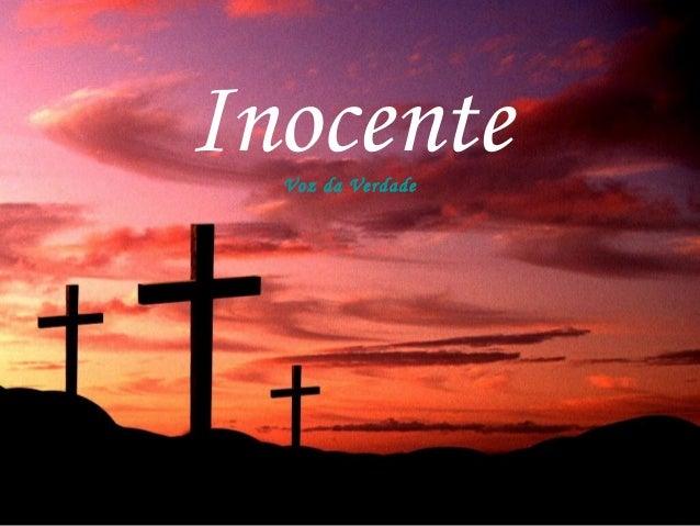 InocenteVoz da Verdade
