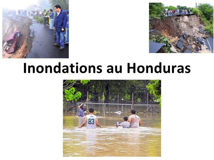 Inondations au Honduras