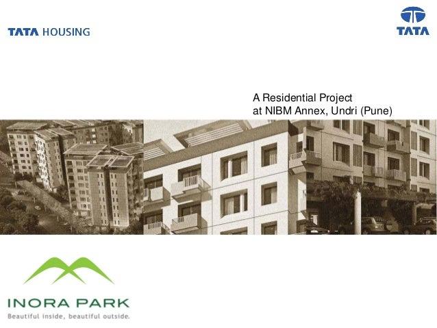 A Residential Projectat NIBM Annex, Undri (Pune)