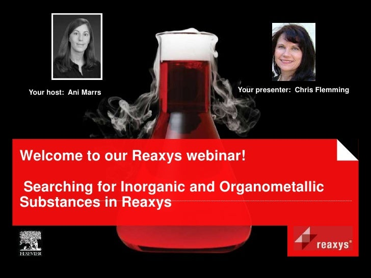 Inorganic and organometallic chemistry: The Reaxys solution_may24_cf