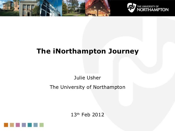iNorthampton Journey