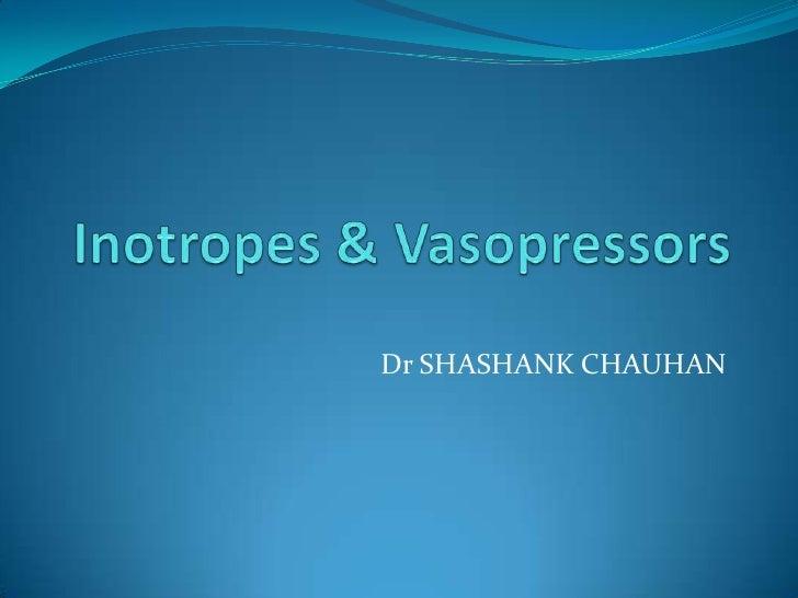 Dr SHASHANK CHAUHAN