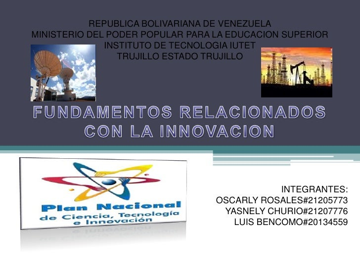 REPUBLICA BOLIVARIANA DE VENEZUELAMINISTERIO DEL PODER POPULAR PARA LA EDUCACION SUPERIOR              INSTITUTO DE TECNOL...