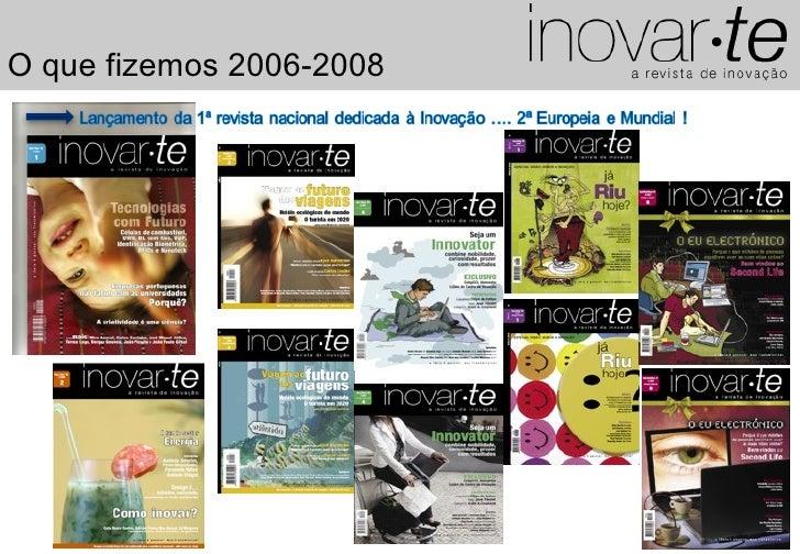 O que fizemos 2006-2008                               1
