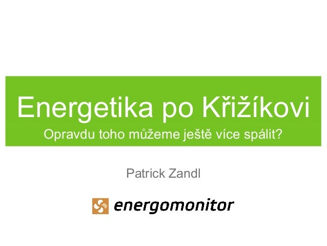 Inovativní energetika