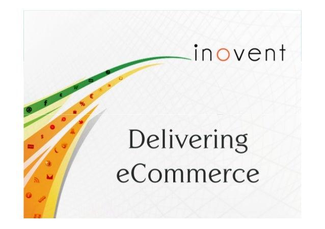 Delivering . eCommerce