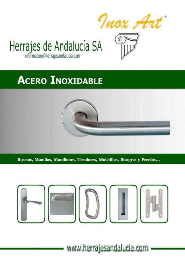 Acero inoxidable en herrajes de andaluc a - Herrajes de acero inoxidable ...