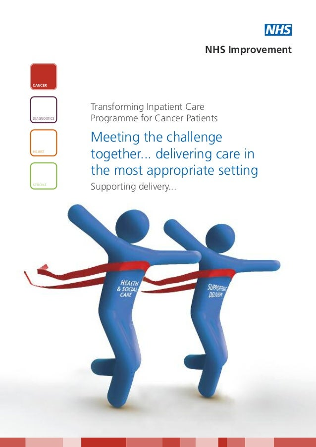Meeting the challenge together... delivering care in the most appropriate setting