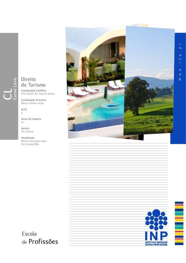 Curso de Direito do Turismo INP`14