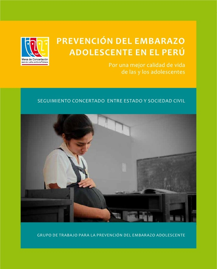 Prevención del Embarazo Adolescente en el Perú. Por una mejor calidad de vida de las y los adolescentes