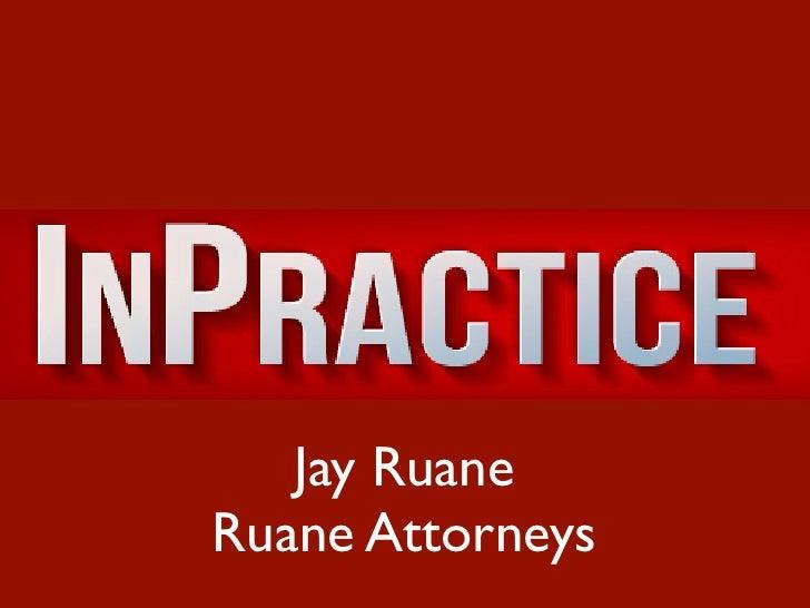Jay RuaneRuane Attorneys