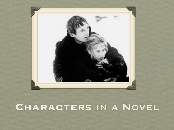 Characters in a Novel