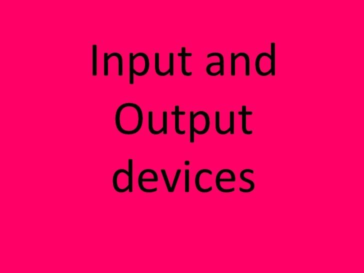 Input & output   kelsey attard