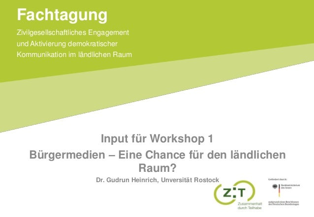 Input Workshop 1