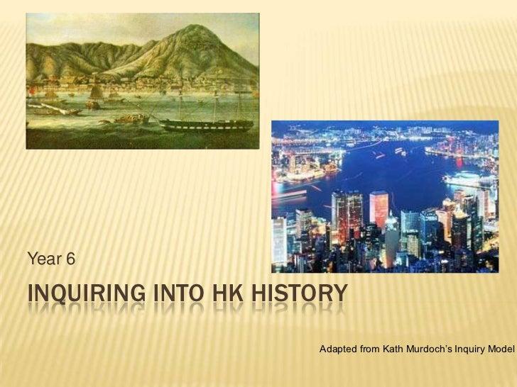 Inquiring into HK History