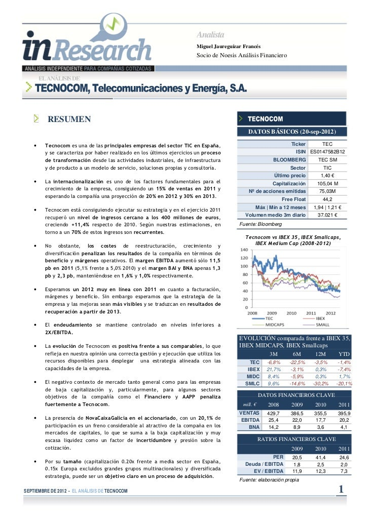 Inresearch Tecnocom