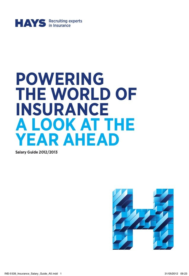 HAYS UK Insurance Salary Guide