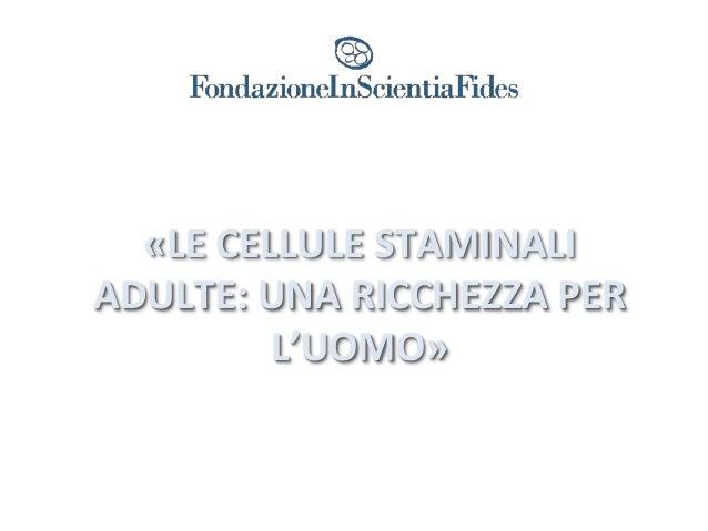 Inscientiafides raccolta cellule staminali cordone ombelicale stem cell