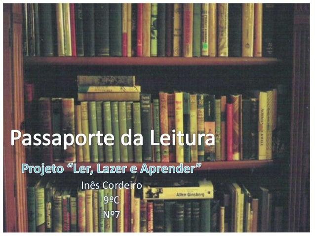 Passaporte da leitura / 2º Período (2012/13 )