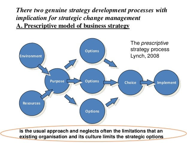 Two broad based strategy options