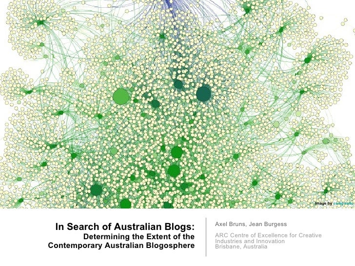 In Search of Australian Blogs: Determining the Extent of the Contemporary Australian Blogosphere