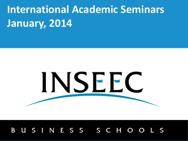 International Academic Seminars January, 2014