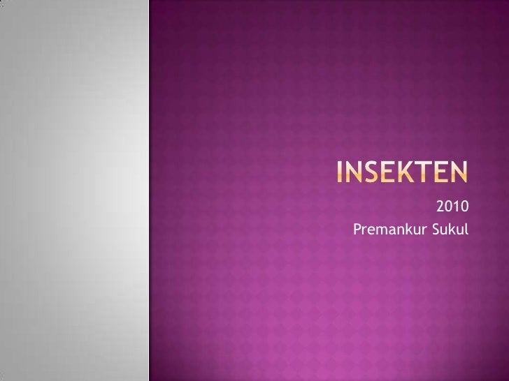 Insekten<br />2010<br />Premankur Sukul<br />