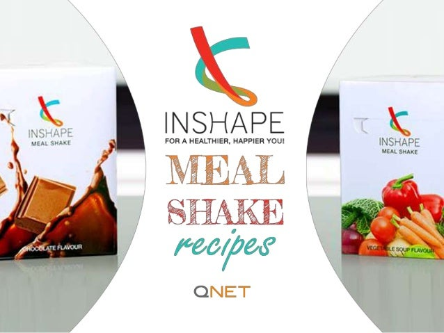 FOR A HEALTHIER, HAPPIER YOU www.inshapeprogram.com Keep a cap on the calories with the original Chocolate InShape Meal Sh...