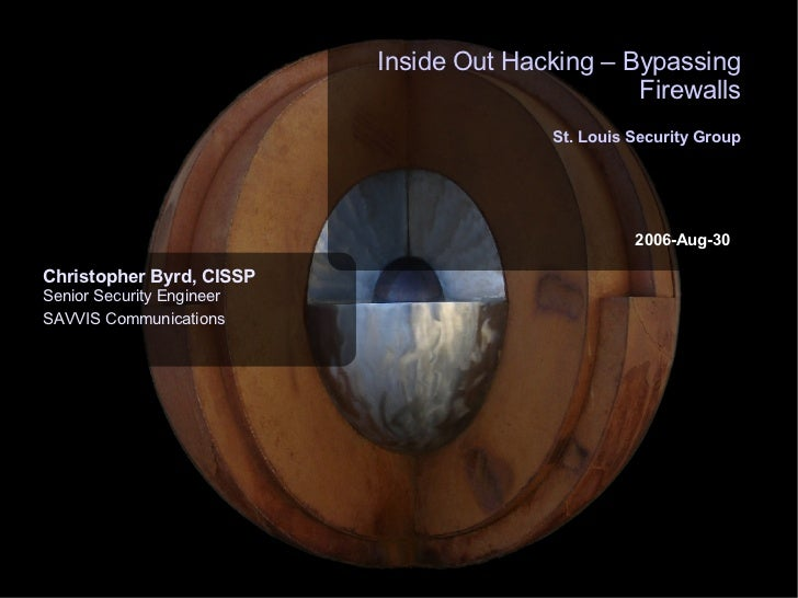 Inside Out Hacking - Bypassing Firewall