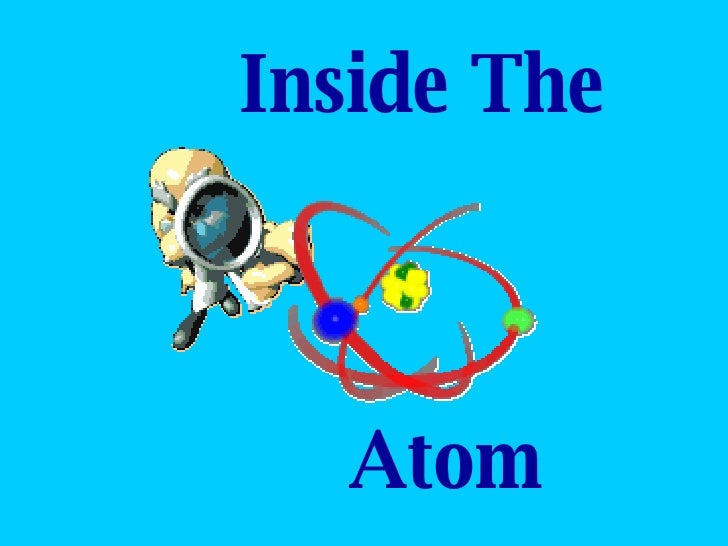 Inside the Atom~Notes