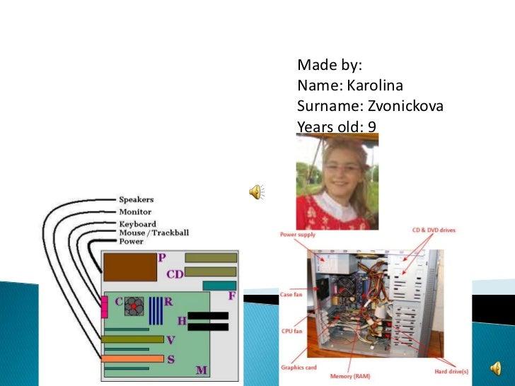 Made by:Name: KarolinaSurname: ZvonickovaYears old: 9