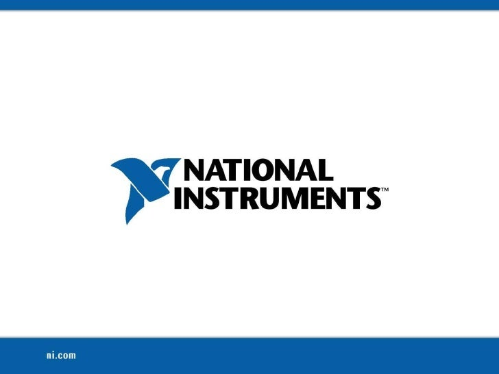 National InstrumentsConfidential<br />