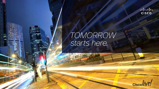 Inside Cisco IT: Secure and Simplified Cloud Services with ACI COCACI-2000
