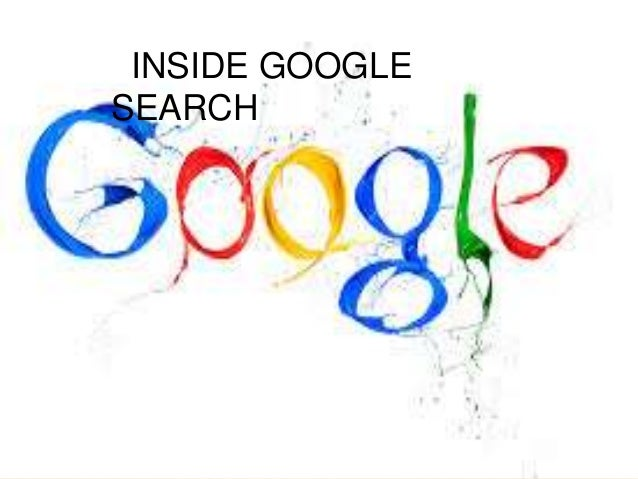 Inside google search - how it works??