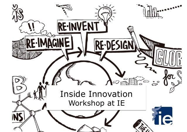 Inside Innovation Workshop at IE