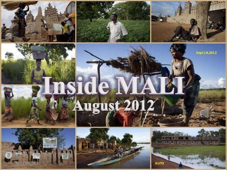 Sept 18,2012                     Inside MaliSeptember 17, 2012                 AUTO           1