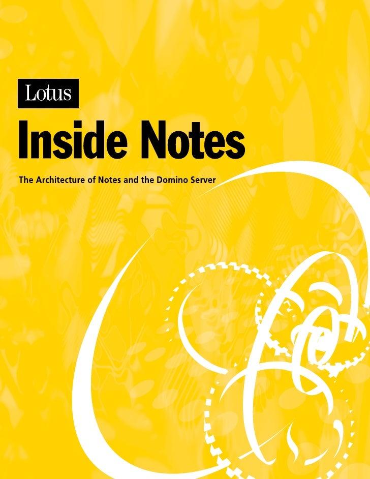 Inside notes
