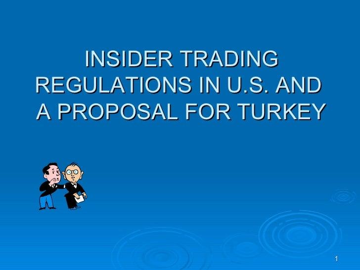 Insider Trading In Turkey