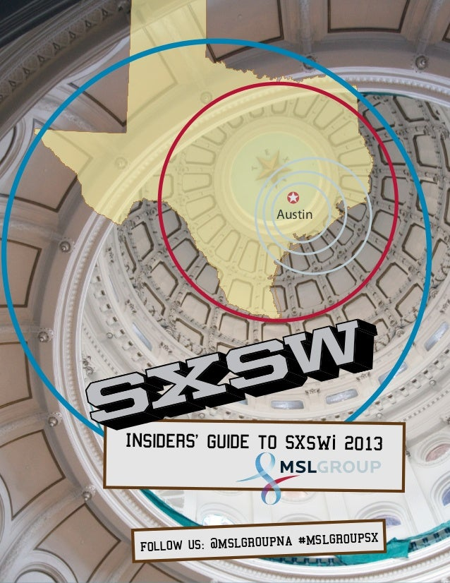 Insider's Guide to SXSW-i