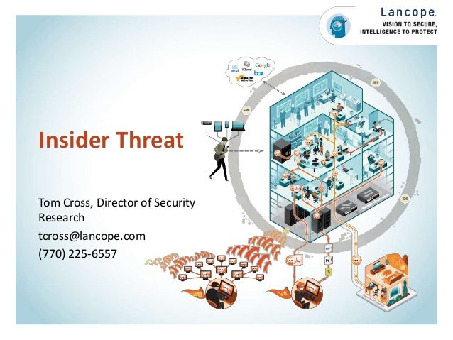 Insider Threat Tom Cross, Director of Security Research tcross@lancope.com (770) 225-6557