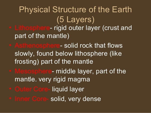 the five major structure of the The metamorphic structures are determined by definite mechanical conditions five major types of metamorphic structures have been recognised disclaimer 5.