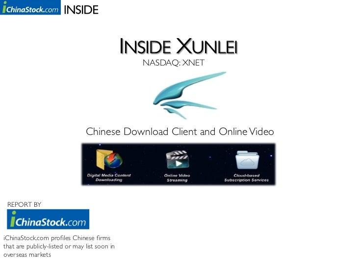 Inside Xunlei (NASDAQ: XNET)