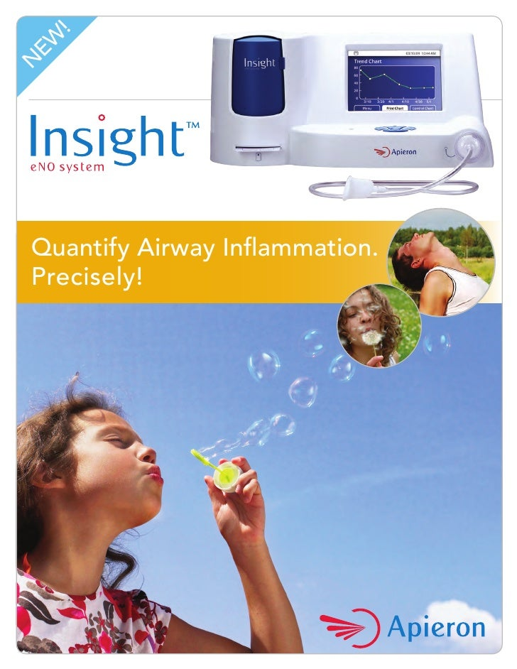 !  EW N      Quantify Airway Inflammation.  Precisely!                                      Managing asthma is a