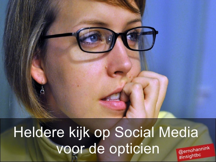 Heldere kijk op de social media voor de opticien - InsightBC