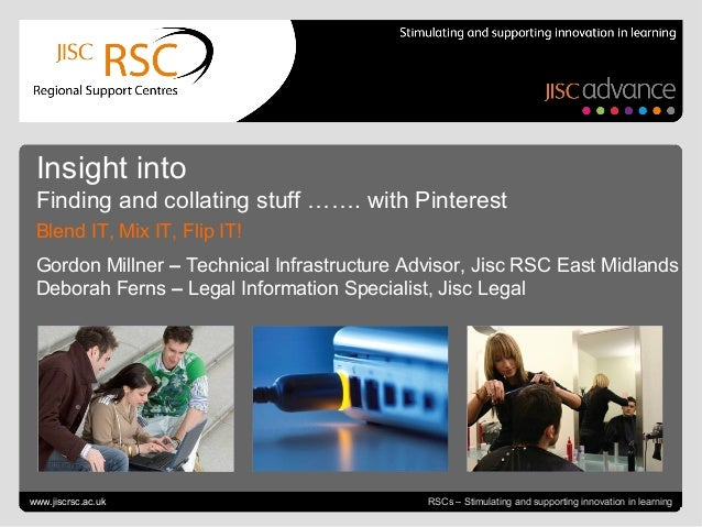 Go to View > Header & Footer to edit June 27, 2013 | slide 1RSCs – Stimulating and supporting innovation in learning Insig...